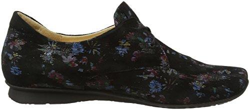 Think Chilli_282100, Chaussures Femme Brouge Noir (sz / Kombi 09)