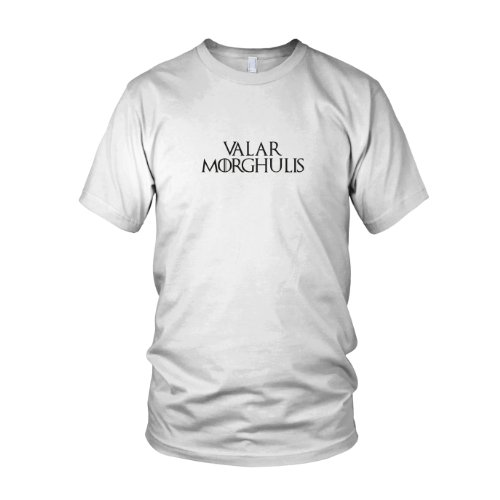 GoT: Valar Morghulis - Herren T-Shirt, Größe: L, Farbe: ()
