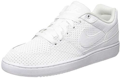 Nike Priority Low, Chaussures Homme Blanco (Blanco (White/White-Wolf Grey))