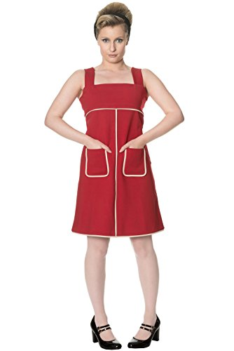 Dancing Days by Banned Kleid STUDIO 64 DRESS 5171 Red