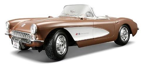 1957 Chevrolet Corvette [Maisto 31139], Metallic Bronze, 1:18 Die Cast