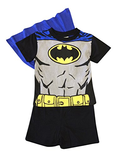 Elefanten Pj (Batman Shorties Jungen Pyjama Set Alter 2-6 (2, Schwarz))