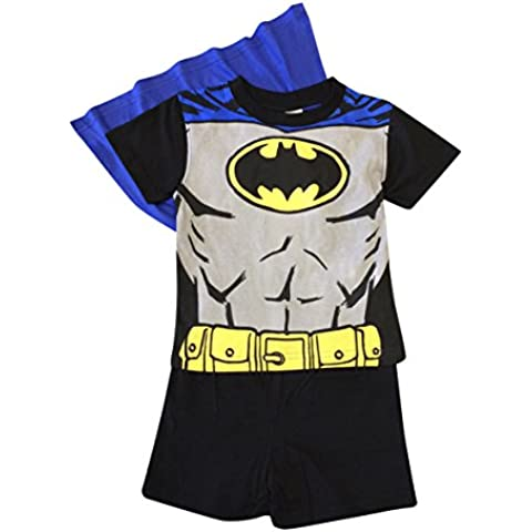 Batman shorties Ragazzi Pajama Set con Cap! Età