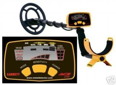 Preisvergleich Produktbild Garrett Ace 150 Metalldetektor Suchtiefe (Max.) 120cm Digital (LCD), Akustisch