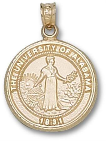 university-of-alabama-seal-pendant-3-4-inch-10k-yellow-gold-by-logo-art