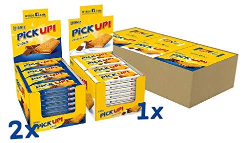 Leibniz PiCK UP Bestseller Bundle (72 x 28g) im Vorteilspack - Großpackung mit Keksriegeln, 2016 g