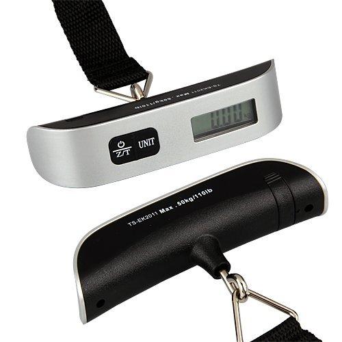 Kofferwaage Handwaage Hängewaage Feinwaage digital Thermometer 50kg/50g