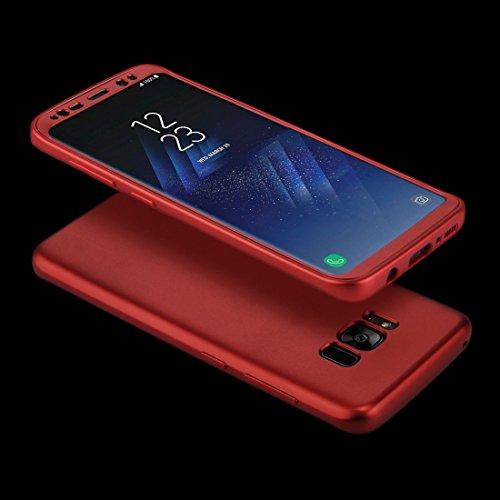 Ruiyue Samsung Galaxy S8 Plus caso, la cobertura completa TPU protección funda trasera suave ,funda samsung galaxy s8 plus