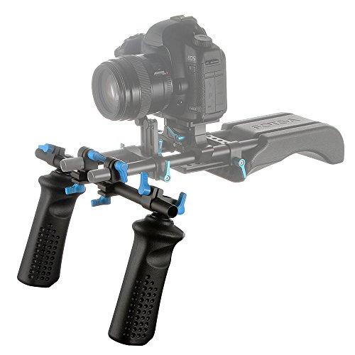 FOTGA DP3000 M2 Hand Griff Grip Stabilisator für 15mm Schiene Rod System Folgen Fokus Matte Box Grundplatte 5DII 5DIII D7100 D7200 A7 II III GH4 GH5 DSLR Videokamera -