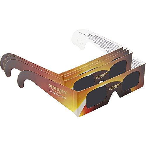 Brille zur Sonnenfinsternis, 5 Stück ()