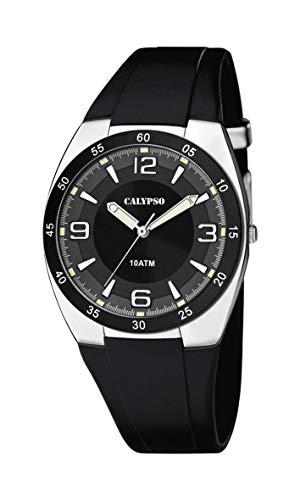 Calypso Reloj Analógico para Hombre de Cuarzo con Correa en Plástico K5753/3