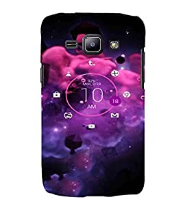 Umbrella, Black, Amazing Pattern, Lovely Pattern, Printed Designer Back Case Cover for Samsung Galaxy J1 (2015) :: Samsung Galaxy J1 4G (2015) :: Samsung Galaxy J1 4G Duos :: Samsung Galaxy J1 J100F J100Fn J100H J100H/Dd J100H/Ds J100M J100Mu