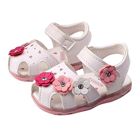Chaussures Bébé, Reaso Enfant en Bas âge Fleurs Nouvelles Filles