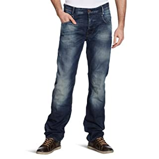 G-Star Men's new radar tpred - memphis denim Tapered, Blau (medium agd t.p.), 26 UK (26 W/32 L)