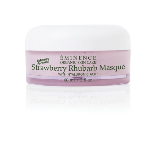 Eminence Organic Skincare Strawberry Rhubarb Masque with Vegan Friendly Hyaluronic...