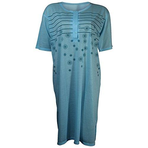 Lavazio - Chemise de nuit - Femme Turquoise