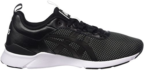 Asics Gel-Lyte Runner, Sneakers Basses Mixte Adulte Noir (Black/black)