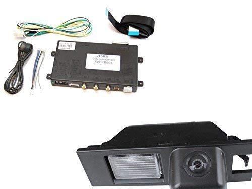 ZEMEX Rückfahrkamera Set für Opel Insignia, Astra, Meriva, Corsa CD500, CD600, DVD600, DVD800, DVD900, DVD950, Intellilink