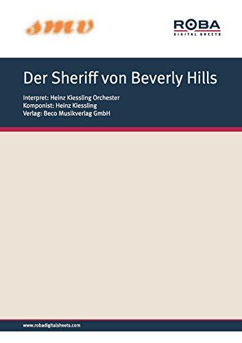 Der Sheriff von Beverly Hills: Notenausgabe aus dem Modern Art/Constantin-Film