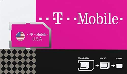 SIM-card prepagata degli Stati Uniti d'America con dati 4G/LTE da 50GB, UNLIMITED National Talk & Text in USA. Tethering a velocità massima 3G per 30 giorni.