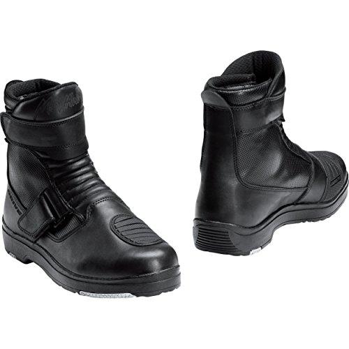 Motorradstiefel Mohawk Touren Stiefel kurz 1.0 schwarz 40