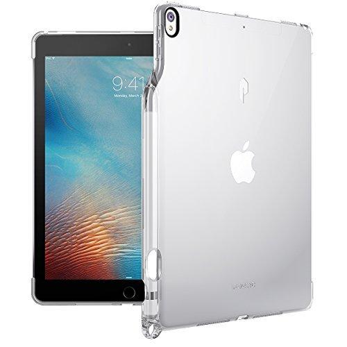 Poetic Lumos Flexibel Wiche Durchsichtig Ultra Dünn Schlagfest TPU Hülle für Apple iPad Pro 10,5 (2017) Durchsichtig Klar -