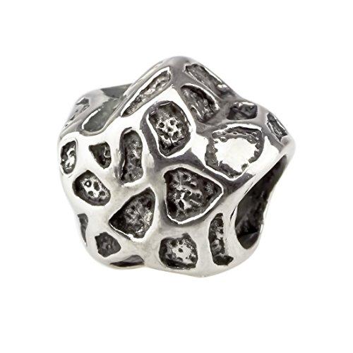 Beads Hunter Élément pour bracelet à charms, animaux de motifs, convient pour 3mm Bracelets à charms de Pandora/Chamilia/Biagi et bracelets européenne Seestern