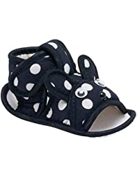 CHiU Rabbit Face with Polka Printed Baby Sandal for Girls & Boys