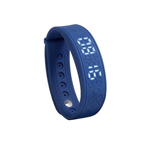 Fitness Armband Silikagel Track Schrittzähler Herzfrequenz-Überwachung Smart Armbänder H5S