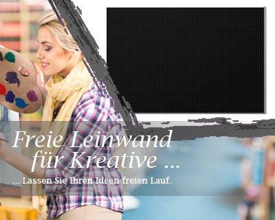 Leinwand mit Winter SALE in schwarz, bemalbare Premiumqualität, aufgespannt auf Galerie Keilrahmen - Echtholz - Digital-Format - 50x40 cm - 330g/m² - fertig gerahmt, 7 Farben verfügbar - eigene Herstellung bei Bilderdepot24, faire Produktion in Deutschland