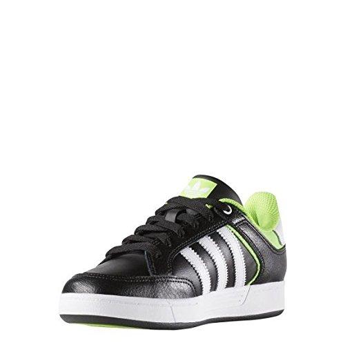 adidas Jungen Varial J Skaterschuhe, Black (Schwarz (Negbas/Ftwbla/Versol)) 36 2/3 EU