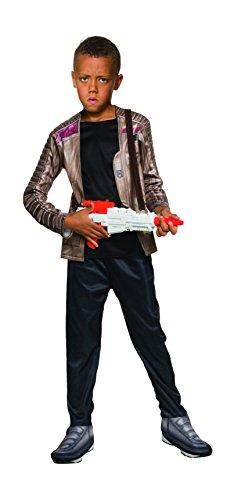 Star Wars Ep VII Finn Deluxe Kostüm (Kind (Epic Für Kinder Kostüme Halloween)
