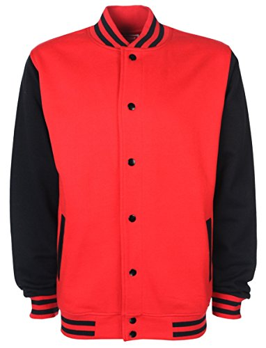 Dire che cosa reale del Varsity Giacca Red