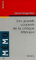 Les grands courants de la critique littéraire