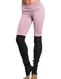Ninimour Pantalones Deportivos Hit Color Leggings para Mujer