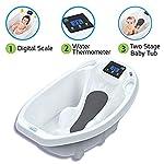 Aqua Scale Digital Baby Bath with Scale White
