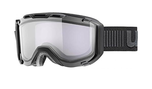 5b6ed6041 Uvex Snowstrike VT Goggles, Black Variotronic: Amazon.co.uk: Sports &  Outdoors