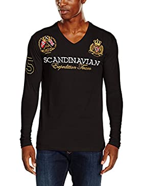 Geographical Norway Jevin Ls Men, Camiseta para Hombre