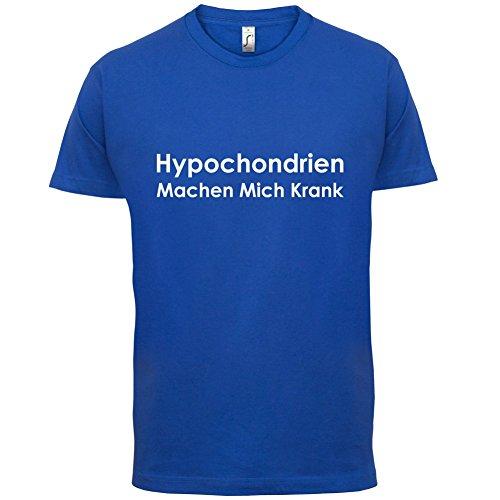 Hypochondrien machen mich krank - Herren T-Shirt - 13 Farben Royalblau