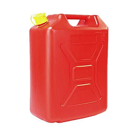 Benzinkanister, Treibstofftank Kraftstofftank Aus 3 Mm Dickem HDPE-Polyethylen, Feuerfest, Explosionsgeschützt, Korrosionsbeständig, Benzinkanister Für Auto, Yacht, Rasenmäher, ATV, 5L/10L/20L