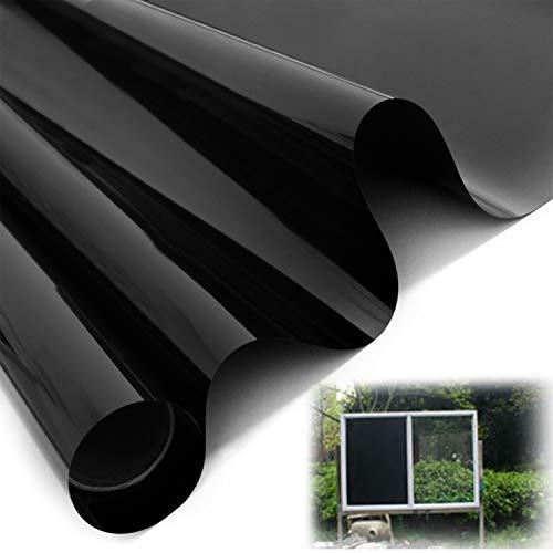 YHmall 1 Piezas Vinilo Ventana, Espejo de Película y Protector Solar de Anti-Vista Membrana Ventana, Aislamiento Térmico con Película de Ventana, Autoadhesivo y Anti-UV