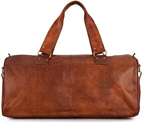 Berliner Bags Oslo XL Reisetasche aus Leder Weekender - 4