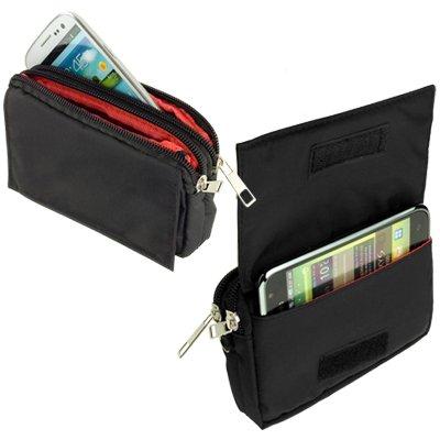 yayago -Travel-Case- Quertasche Tasche Hülle in Schwarz für Sony Xperia ZL