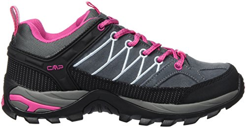 CMP Damen Rigel Low WP Trekking-& Wanderhalbschuhe Grau (Grey-Fuxia-Ice 103Q)