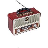 راديو كلاسيكي تراثي مع ريموت بلوتوث يو اس بي اواكس مدخل ذاكرة