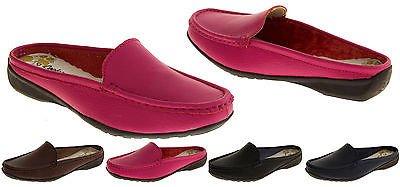 Coolers Cuir et Simili-Cuir Eté Mules Chaussures Femmes Tan Brun - Faux Cuir