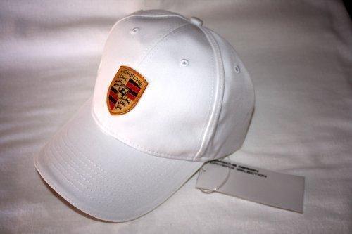 porsche-cappellino-bianco-con-stemma
