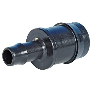 Hozelock Water Hose and Accessories, Hose Connector 2 x Nozzles, Reduced, 25 mm x 12 mm Black