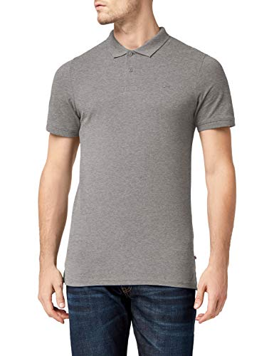 JACK   JONES Jjebasic Polo SS Noos, Hombre, Gris (Light Grey Detail  6f8d99860f