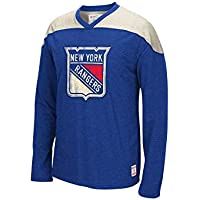 Reebok CCM NHL NEW YORK RANGERS Team Classics Crew Jersey Long Sleeve Sweatshirt NEU/OVP